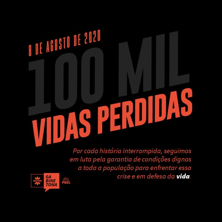 100 mil mortes pelo coronavírus